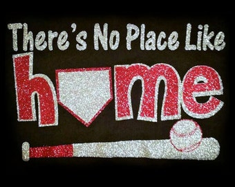 Theres No Place Like Home V-Neck T-Shirt