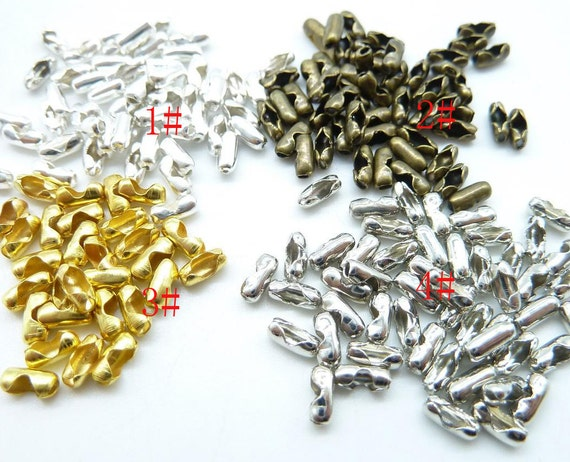 500pcs 1 5mm bead chain connector clasps for bead chain sized