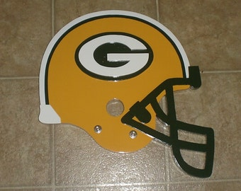 Green Bay Packers 3D Helmet Wall Display