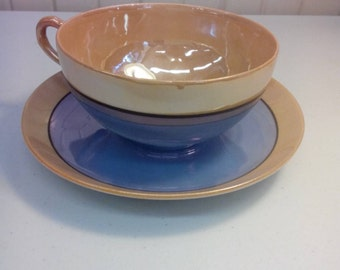 Teacup and saucer from Japan
