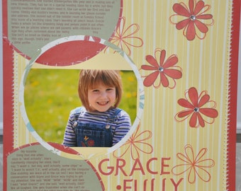 Custom Scrapbook Album With Your Photos