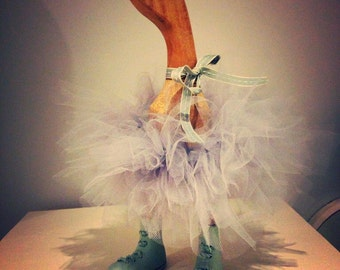 Beautiful hand tied Tutu duck Indoor use only.