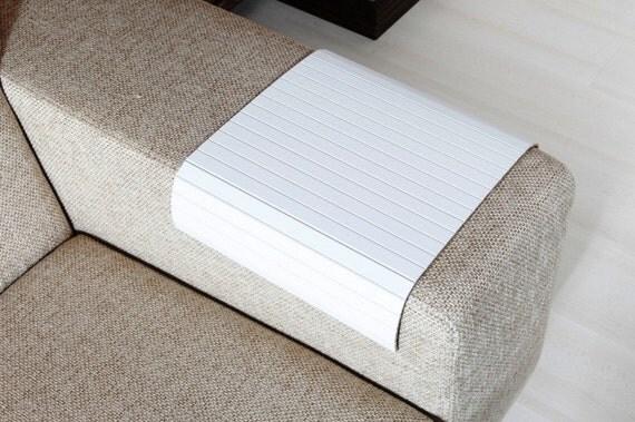 sofa tablett tisch super white sofa arm tray von. Black Bedroom Furniture Sets. Home Design Ideas
