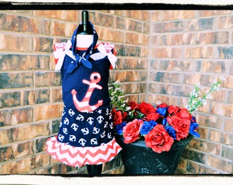 Anchor tank and skirt with anchor headband
