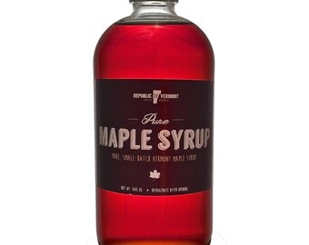 Pure Vermont Maple Syrup (16oz)