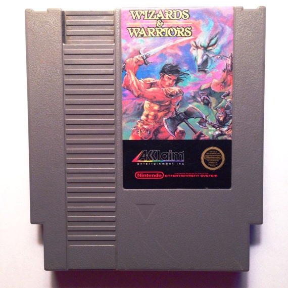 Wizards warriors nes by thegamerzone on etsy for Wizards warriors