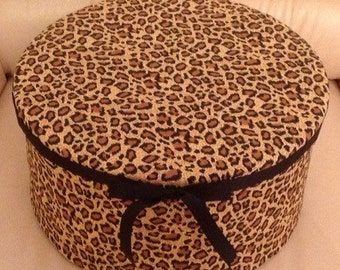 Bespoke Decorator Box - Leopard