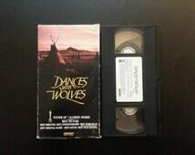Dances with Wolves - VHS - 1990 - Kevin Costner