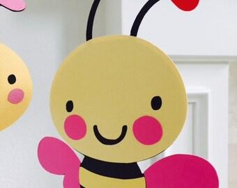 Bee Centerpiece, Baby Shower Centerpiece, Baby Shower Decoration