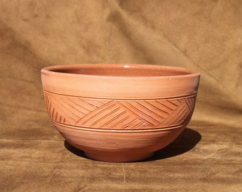 Coffee Bowl - Ceramic Bowl - Iroquoian collection