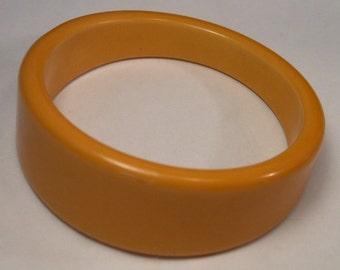 Asymmetrical Bakelite Bangle Bracelet