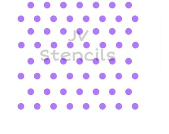 Small Polka Dots Stencil