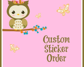 Custom Sticker Sheet 4.50 for first sheet