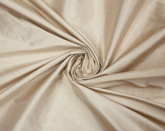 FREE SHIPPING! 100% Gold Silk Dupioni/ Raw Silk/ High Quality Silk