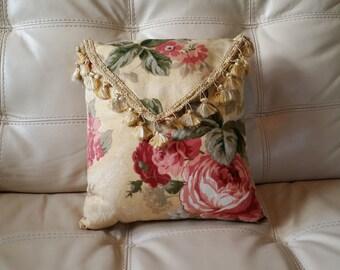 Elegant Handmade Decorative Pillow