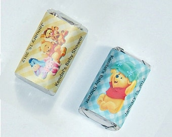 Winnie the pooh /Boy Baby Shower Mini Candy Wrappers