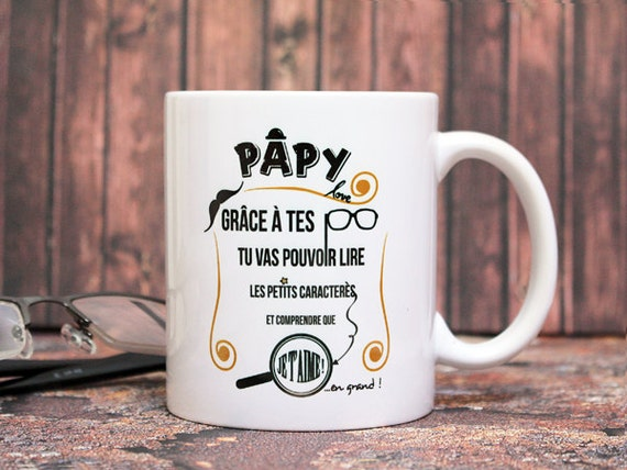 mug papy love tasse personnalisable cadeau pour. Black Bedroom Furniture Sets. Home Design Ideas