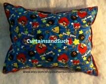 Angry Birds Pillow, Decorative Pillow,Kids Pillow, Throw Pillow, Game Pillow, Angry Birds, Cartoon Pillow