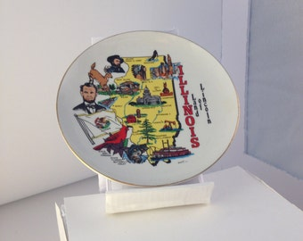 Land of Lincoln Decorative Plate