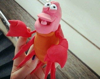 Sebastian die krabbe  Etsy