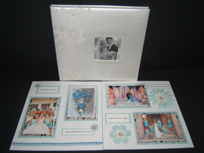 Anniversary gift scrapbook album wedding