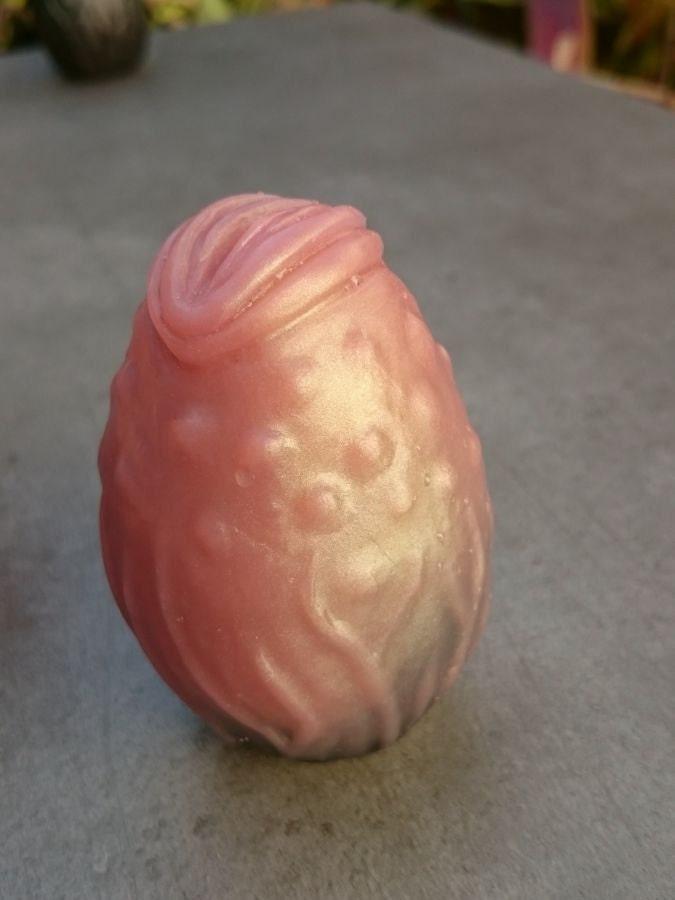 Squishy Glowing Egg : Xenova no.15 slimy pink alien egg silicone squishy stress