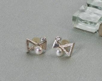 Unlimited Earrings,Sterling Silver