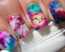 Galaxy Nail Decals