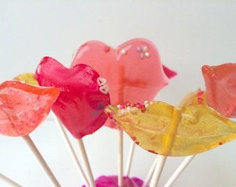 Sugar Cube Lollipops