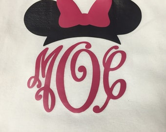 Minnie Mouse Personalized T-Shirt