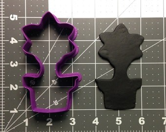 Potted Flower 101 Cookie Cutter