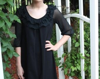 Short Black Vintage Dress