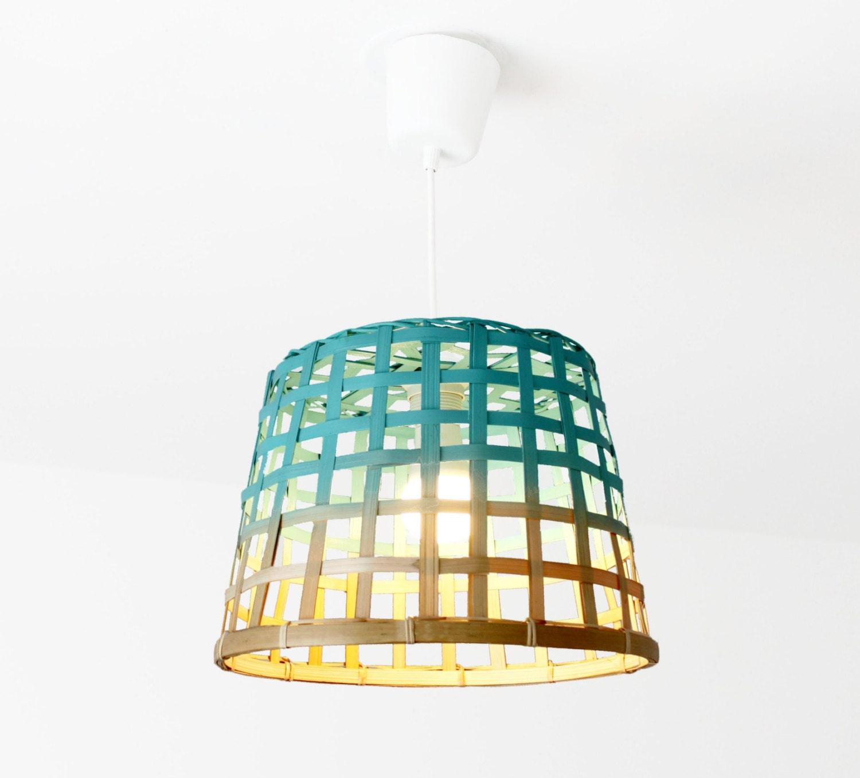 suspension lampe panier naturelle natural tyed basket. Black Bedroom Furniture Sets. Home Design Ideas