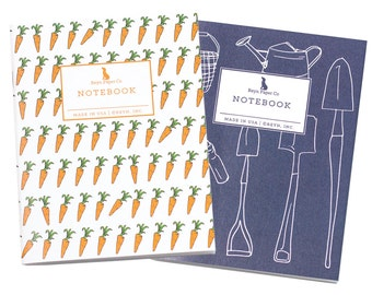 Garden Mini Jotter Set/Mini Notebook Set/Garden Notebook Set/Pocket Notebooks