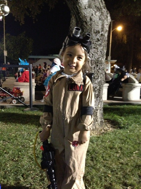 Kids Ghostbusters Costume Ghostbuster Uniform Jumpsuit Only
