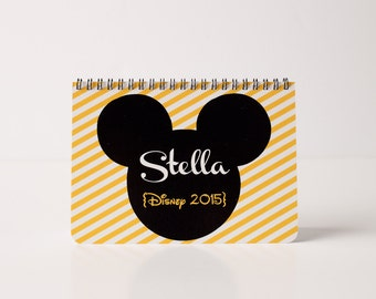5x7 or 5x5 Disney Autograph Book- Yellow and White