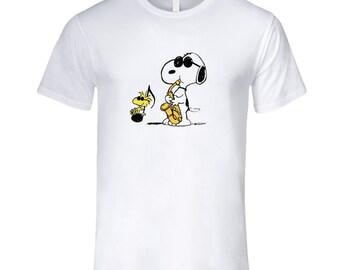 Snoopy Jazz T Shirt