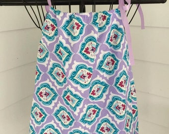 Purple Pillowcase 2/3T Dress or 4/6 Top