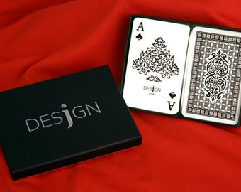 Desjgn 100% Plastic Playing Cards - Bridge Size