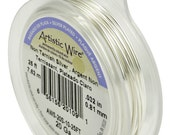 SILVER (10GA - 28GA) Tarnish Resistant Silver Artistic Wire - Permium NON Tarnish Craft Wire