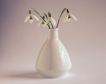 Tiny White Vase Vintage