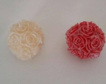 Handmade sphere scented candle-Variety Colours FREE UK delivery