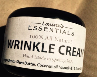 wrinkle cream All natural with essential oils, Vegan