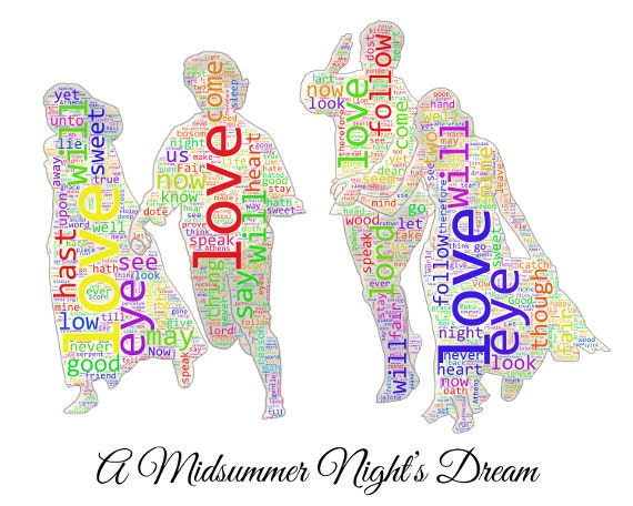 True love a midsummer night 39 s dream word clouds for True frequency jewelry reviews