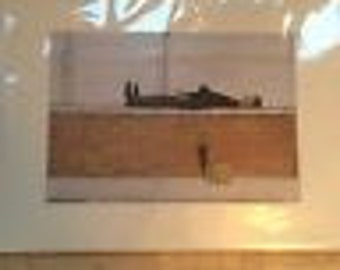 Small L.S Lowry Print in mount