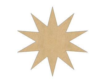 how to cut stars out of wood