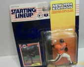 1994 Mike Mussina MLB Baseball Baltimore Orioles Kenner Starting Line Up Action Figure New On Card