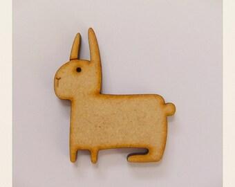 Hop Bunny Brooch