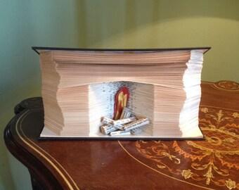 Fireplace Book fold Pattern