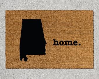 Items Similar To Metal Alabama Door Hanger Any State